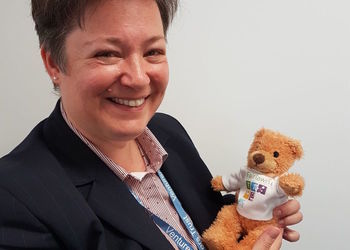 Venturers Trust CEO receives her Fairlawn Teddy!